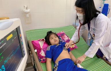 Tăng đột biến bênh hô hấp ở trẻ em